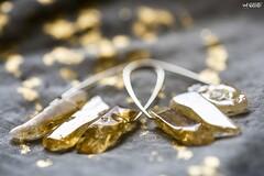 Shiny (red stilletto) Tags: metalic earrings citrine gold golden jewellery shiny 52weekphotochallenge 201852weekphotochallenge