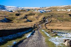 Yorkshire Dales National Park (vambo25) Tags: yorkshire dales nationalpark uk england snow moors drystone wall dirtroad cray moorland