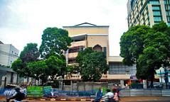 Pusat Dakwah Muhammadiyah (Ya, saya inBaliTimur (using album)) Tags: jakarta building gedung architecture arsitektur office kantor
