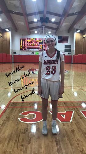 Senior Alexa Huisman