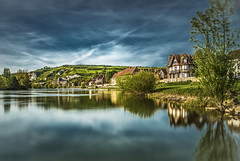 A lazy river (Sizun Eye) Tags: seineriver river lazy peaceful tranquil serenity lesandelys eure normandie france longexposure poselongue le nikond750 tamron2470mmf28 leefilters leebigstopper nisifilters reflections architecture