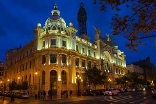 Edifici Correus a València.