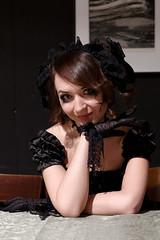 IMGP6833_DxO_2 (heraldofstagnation) Tags: pentax k3ii portrait dress gloves makeup goth sigma hsm art 1835 mm f18