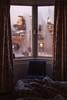 Nunca hice noche en el Chelsea Hotel (una cierta mirada) Tags: hotel hotelroom london uk wet window blue chair room bed travel leonardcohen chelseahotel janisjoplin