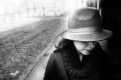 WINTER BEHIND ME (oskarRLS) Tags: wintwr invierno girl soletude monocrome monocromo bw blackwhite blanconegro street salamanca