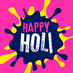 happy holi color splash vector background (bhaveshk.garg) Tags: holi festive festival hindu india greeting card design background happy fun party colors colour colorful enjoy poster invitation basant splash watercolor gulaal asian celebration culture religion faith gulal vibrant rang holiday tradition occasion banner