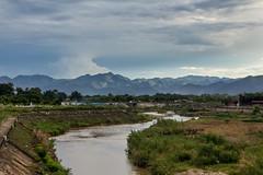 Kotlina okolo Dien Bien Phu (zcesty) Tags: řeka krajina hory vietnam27 vietnam dienbienphu dosvěta tpđiệnbiênphủ điệnbiên vn