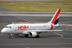 Hop! F-HBXL Embraer ERJ-170LR (ERJ-170-100 LR) cn/17000009 @ EDDL / DUS 16-06-2017 (Nabil Molinari Photography) Tags: hop fhbxl embraer erj170lr erj170100 lr cn17000009 eddl dus 16062017