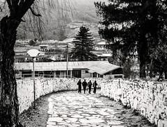 Streets of Paro, Bhutan