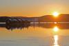 Sunset (pelnit) Tags: water vann pelnit norge norway akershus fetsund fetsundlenser hus houses glomma elv river sunset solnedgang sol sun
