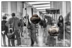 Petrospheres exposure (AJ Mitchell) Tags: britishmuseum multipleexposure petroshere carvedstoneballs aberdeenshire
