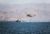 Navy & Air Force Co-op in Red Sea (Israel Defense Forces) Tags: navy boat red sea helicopter dvora ch53 stallion eilat gulf