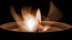 ghost of the flame / firebird (Özgür Gürgey) Tags: 105mm 169 2018 d7100 macromondays nikon sigma candle dance dark flame ghost macro tealight istanbul stravinsky abbado curiouscandles smileonsaturday