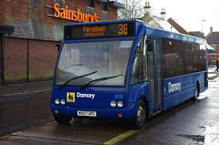 IMGP7148 (Steve Guess) Tags: bus ringwood hampshire newforest england gb uk optare solo damory meetinghouselane