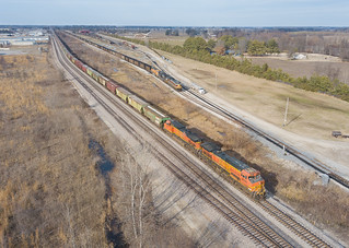 BNSF 4690 (C44-9W) Marion, Arkansas