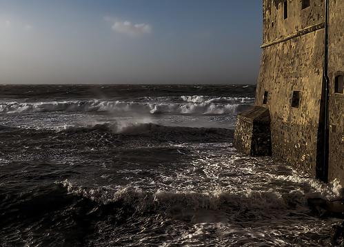 Torre Mozza con libeccio