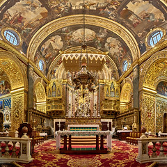 Saint John's Co-Cathedral - Malta (W_von_S) Tags: saintjohnscocathedral malta church kirche architektur architecture hochbarock highbaroque sony sonyilce7rm2 wvons werner valletta city romancatholic römischkatholisch januar january 2018