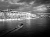 Flood in Paris (jeremieweber) Tags: seine france flood paris river boat lieux europe cloudgate blackwhite