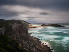 Rough coastal walk... (davYd&s4rah) Tags: sea ocean rough coast darkclouds sky fog dust longtimeexposure southafrica rza plettenbergbay robbergnaturereserve olympus em10markii m1240mm f28 olympusm1240mmf28 dof blue seascape nature