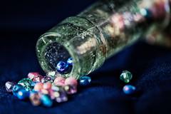 StrangeMedicine (Lo8i) Tags: inabottle beads bottle macro macromondays medicinebottle strangemedicine