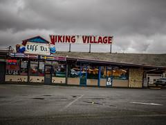 Viking Village-002 (RandomConnections) Tags: signs stanwood vikingvillage washington washingtonstate