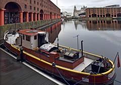 Tug, Albert Dock, Liverpool (geoff7918) Tags: albertdock liverpool tugboat