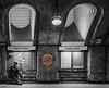 Baker Street- (sailor4242@rocketmail.com) Tags: londonunderground blackandwhite monochrome bakerstreet