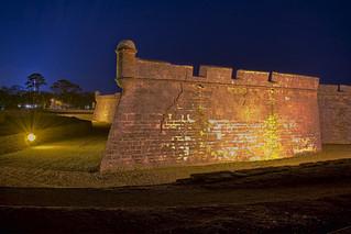 Castillo de San Marcos, St. Augustine, St. Johns County, Florida, USA