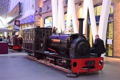 BR Hugh Napier @ London Kings Cross train station (ianjpoole) Tags: hunslet locomotive works large quarry class hugh napier display london kings cross station