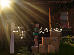 new house love (sophie phoenix amos) Tags: newstart home heart love jon marrage secondlife