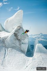 540 ice tap with Candide Thovex (Tristan Shu) Tags: alpes alps cahmonixmontblanc candidethovex chamonix chamonixmontblanc europe fr france hautesavoie photography rhonealpes rhônealpes tristanshu tristanshuphotography photo wwwtristanshucom