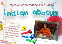Abacus training improves logical thinking power of a child. This logical thinking enables child to solve mathematical problems with integers, decimals, and fractions. (Ind-Abacus) Tags: abacus mental mind math maths arithmetic division q new invention online learning basheer ahamed coaching indian buy tutorial national franchise master tutor how do teacher training game control kids competition course entrepreneur student indianabacuscom