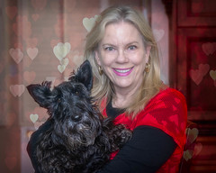"20180214Maggie n Me8760-Edit (Laurie2123) Tags: laurieturner laurieturnerphotography laurie2123 maggie scottie scottishterrier blackscottie femaleportrait me portrait selfportrati selfie ddc ddc2018 ""daily dog challenge"