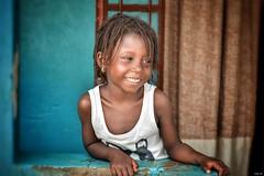 Portrait shots - The Gambia (Nina_Ali) Tags: portraitshots nikond5500 braids thegambia sukuta child girl african smile expression peoplephotography ninaali