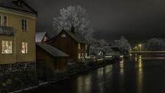 Arboga winternight (Promenadfotograf BoMolander) Tags: portfolio arboga natt vinter 2018 ån västmanlandslän sverige se