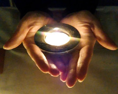 Hands holding a candle (Andy Sut) Tags: hands holding tealight candle