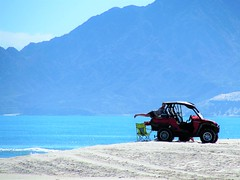 Perfect spot (thomasgorman1) Tags: view beach scenic vehicle offroad sand mountain canon viewpoint baja mexico outdoors pinnic woman posing people
