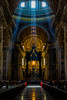 Inside St. Peter's Basilica (part IV) (Greg @ Montreal) Tags: stpetersbasilica basiliquesaintpierre basilique church eglise cathédrale cathedrale light ray rays lumière inside intérieur roma rome italy italie travel voyage europe nikon nikonpassion d7100