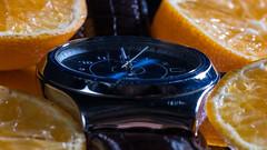 MM 18#3 My Favourite Novel (Normann Photography) Tags: macromondays myfavouritenovel swatch swiss clock closeup macro makro novel orange wristwatch