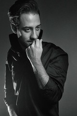 *the look* (jelena_peyton) Tags: portrait portraiture studio model photographer blackandwhite lights setup black shirt look beautiful