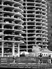 cars above people (Al Fed) Tags: 20170702 chicago usa marina city rain people buildings cars parking bridge much space for too