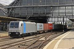 Railpool/BoxXpress 185 716 am 14.07.2015 mit einem Containerzug in Bremen Hbf (Eisenbahner101) Tags:
