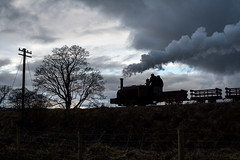 The end of the day! (ralfedge) Tags: llanuwchllyn wales unitedkingdom hunslet quarry silhouette