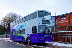 JMB Travel, Newmains S762DRP (busmanscotland) Tags: jmb travel newmains s762drp s762 drp volvo olympian r type alexander united counties 762 16232 fife east scotland school bus