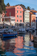 Veli Lošinj (sandrotariba) Tags: velilošinj reflections colors color reflection water island lošinj