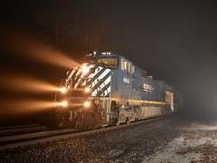Fog Lights (Robby Gragg) Tags: bcol bc rail c449w 4649 griffith