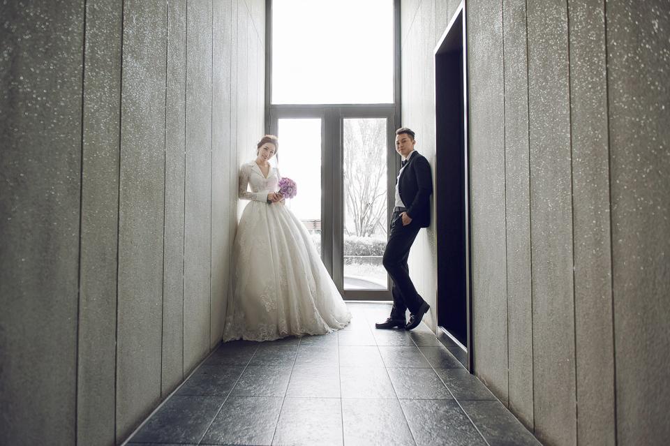婚攝 高雄林皇宮 婚宴 時尚氣質新娘現身 S & R 096