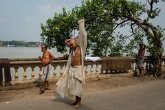 Tree (SaumalyaGhosh.com) Tags: kolkata street streetphotography india pulldown man people river riverside color water