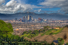 "A Beautiful Day (which never existed) (Michael F. Nyiri) Tags: city cityscape losangeles california southerncalifornia kennethhahnstaterecreationarea compositeartwork ""canonflickraward"