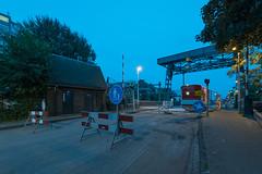 Transvaal (dangpollard) Tags: construction haagwegkwartier leiden longexposure manalteredlandscape morskwartier netherlands newtopographics night rijnzichtbrug werkzaamheden zuidholland nl